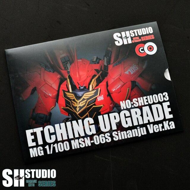 SH スタジオ MG 1/100 シナンジュ Xinanzhou ガンダム特殊金属エッチングシートアクションフィギュアモデル詳細修正修理