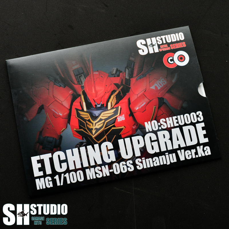 SH STUDIO MG 1/100 SINANJU Xinanzhou Gundam Special Metal Etching Sheet Action Figure Model Detail Modification Repair(China)