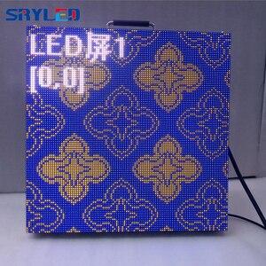 Image 3 - 7 กิโลกรัม/ชิ้น RentalP2.6 P2.976 P3.91 P4.81 ในร่มราคาหน้าจอ LED Die Cast อลูมิเนียมตู้ LED แผง 500x500 มม.