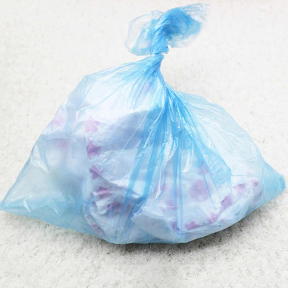 Nova 15 pcs/rolo de Sacos de Fraldas Do Bebê Portátil Bebê Descartável Pet Sacos de Lixo de Lixo Acessório Carrinho De Bebê para A Mãe e Do Bebê