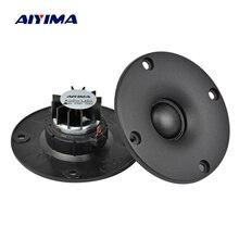 AIYIMA 2 шт. 3 дюйма 4/6/8 Ом 15 Вт купольная шелковая пленка высокочастотные динамики аудио громкий динамик s Неодимовый Hi-Fi высокочастотный портат...