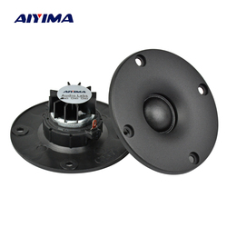 AIYIMA 2PCS 3 inch 4/6/8 Ohm 15W Dome Silk Film Tweeters Audio Loudspeakers Neodymium Hifi Treble Portable Speaker with Panel