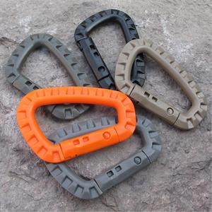 Carabiner Climb Clip-Hook Link Climbing-Accessories D-Buckle Outdoor-Bag Molle-System