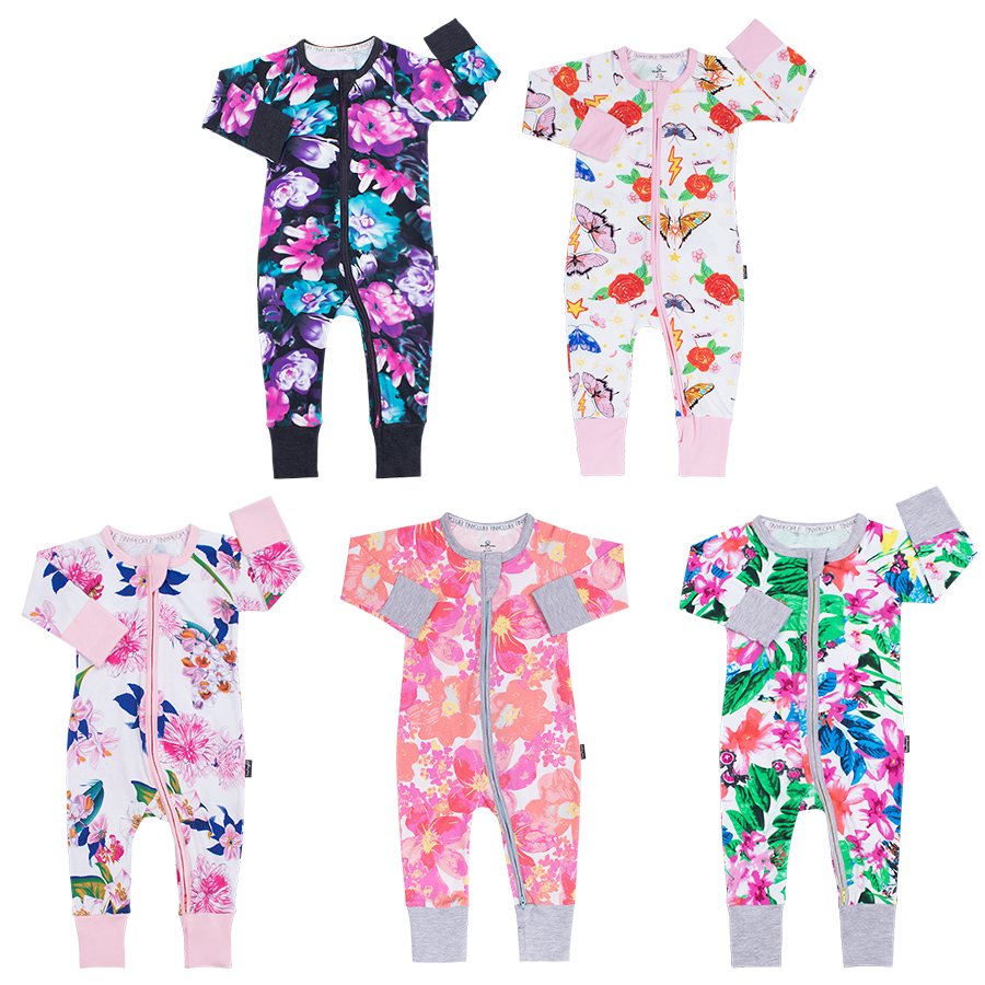 TinyPeople baby girl clothes unisex pijamas infantil baby boy   rompers   Cotton Long Sleeved newborn jumpsuits toddler onesie2019