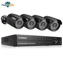 1 шт. 8CH CCTV система DVR+ 4 камеры 3000TVL открытый IP66 Всепогодный 1080P 2.0MP камера безопасности система видеонаблюдения