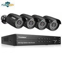 1 шт. 8CH CCTV система DVR + 4 Камера 3000TVL открытый IP66 всепогодный 1080 P 2.0MP для камеры наблюдения Системы