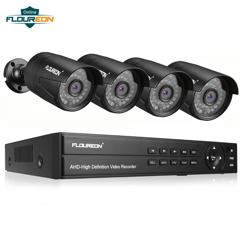 1 stücke 8CH CCTV System DVR + 4 Kamera 3000TVL Outdoor IP66 Wetterfeste 1080P 2.0MP Sicherheit Kamera Video Überwachung system