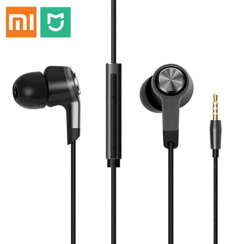 AWEI Auricolare in-Ear con Microfono Noise Cancelling Headphones Metallo Auricolare Stereo Basso Pesante Audio per iPhone per Samsung Regard