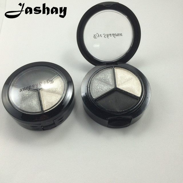Jashay Smoky косметический набор 3 цветов профессиональные естественный блеск тени для век макияж палитры теней Naked Nude Тени для век