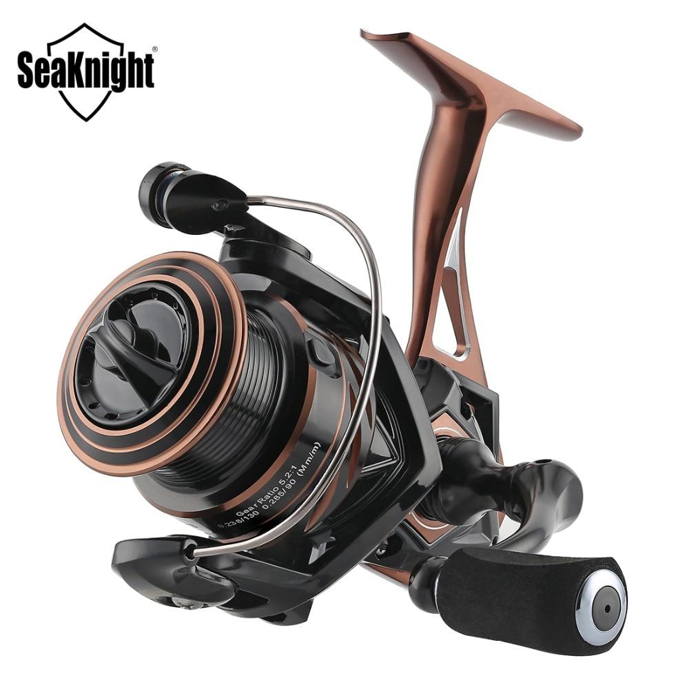 SeaKnight NAGA II 5 2 1 Spinning Reel Metal Body Carbon Fiber Drag 9 15KG For