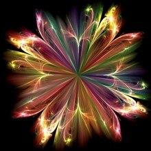 Новые Фэнтези Цветок абстрактное искусство Diy кристалл полный дрель круглый 5D алмазная живопись 3D Набор для вышивки крестиком круглые стразы
