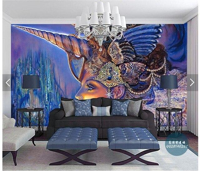 Aliexpress.com : Große moderne wohnzimmer TV hintergrund ...