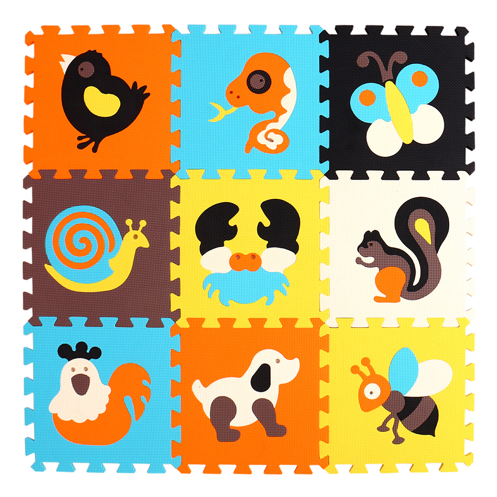 HTB1kVGwsuGSBuNjSspbq6AiipXa5 mei qi cool 9pcs/set baby play EVA foam puzzle mat /Cartoon EVA foam pad / Interlocking Mats for kids playmat