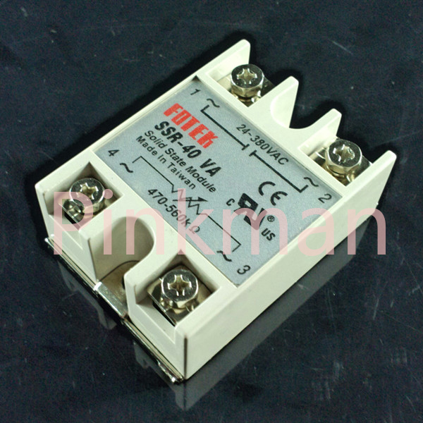 цена на 1pc FOTEK 40VA Solid State Relay SSR Resistance type pressure regulating