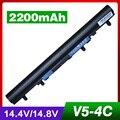 2200 mah batería del ordenador portátil para acer aspire v5 e1 v5-171 v5-431 v5-471 v5-531 v5-571 al12a32