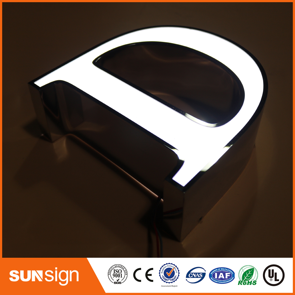 Factory Waterproof Outdoor 3d Acrylic Letter Sign