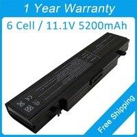 5200mah Laptop Battery AA PB9NS6B For Samsung R510 R518 R523 R538 R540 R560 X360 E152 E251