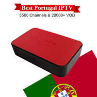 Mini Portugal IPTV Box with 12 months IPTV subscription 3000