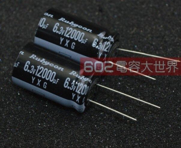 20 pcs de série Rubycon YXM 16 V 47UF longue vie 105 C made in Japan Condensateur