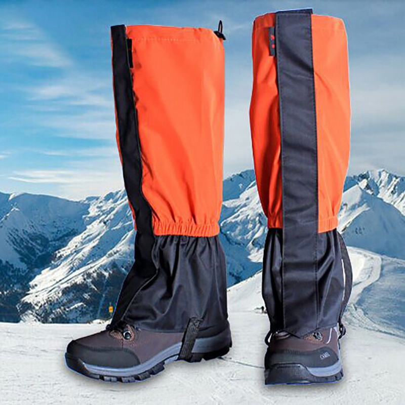 Waterproof Cycling Legwarmers Leg Cover Camping Hiking Ski Boot Travel Shoe Snow Hunting Climbing Gaiters Windproof TX005