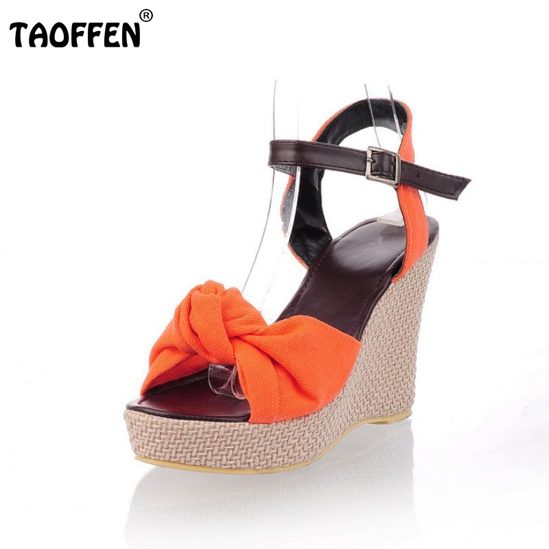 Women Wedges Sandals Fashion Water Proof Shoes Woman Floral Platform Sandals High Heeled Beach Dress Shoes Size 34-42 PA00327 vtota summer shoes woman sandals wedges fashion women shoes high heeled shoes thick heel sandals waterproof platform shoes x326