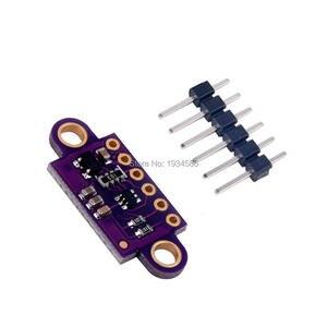 Image 3 - VL53L0X czujnik odległości lasera w czasie lotu moduł breakout dla Arduino VL53L0 VL53L0XV2 przewoźnik z regulatorem napięcia