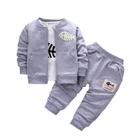 2017 New Autumn Spring Toddler Clothes Baby Clothing Sets Long Sleeve T Shirt Jeans 2pcs Suit