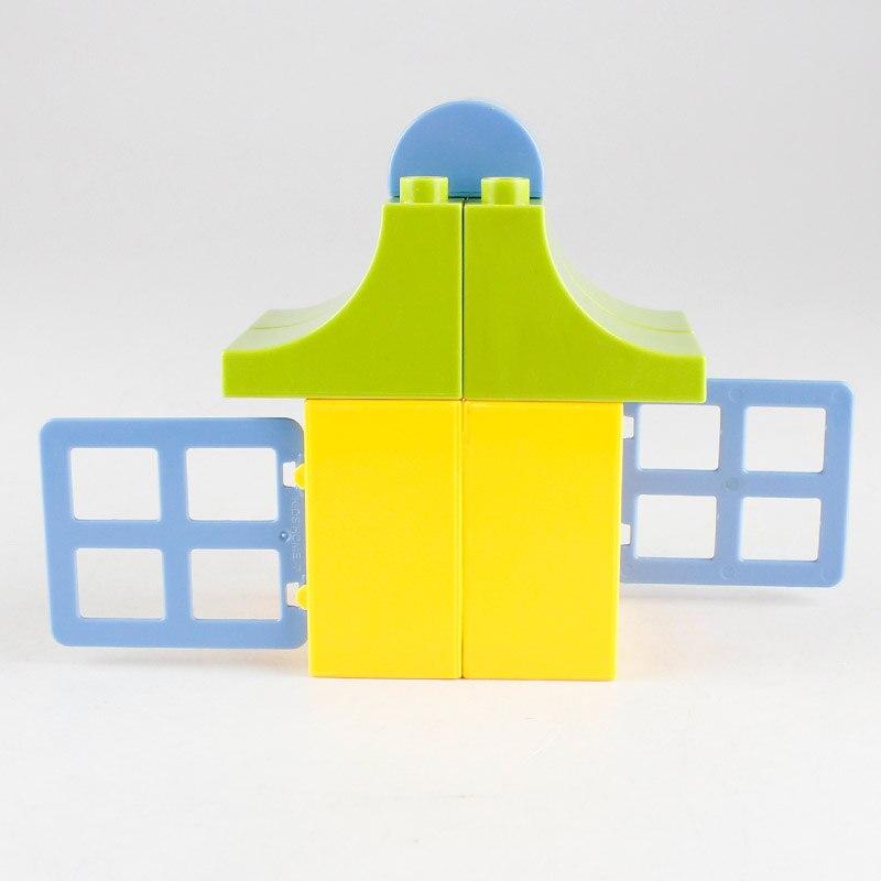 50pcs құрылыс блоктары Үлкен блоктар - Дизайнерлер мен құрылыс ойыншықтары - фото 3