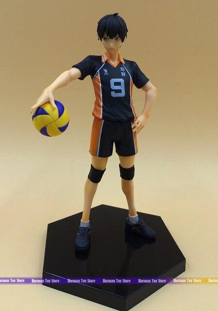 16CM pvc Japanese anime figure haikyuu kageyama tobio action figure collectible model toys for girls