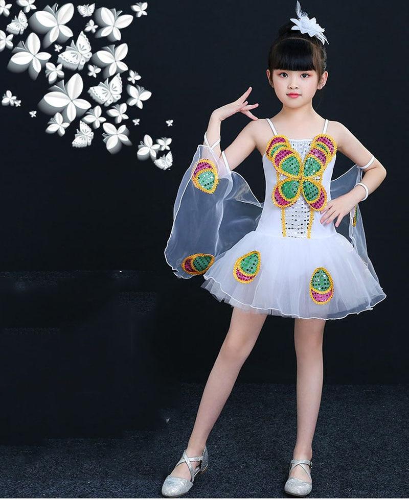 90 cm - 150 cm Kostym Barn Flickor Klänningar Kostym Anime Cosplay - Maskeradkläder och utklädnad - Foto 1