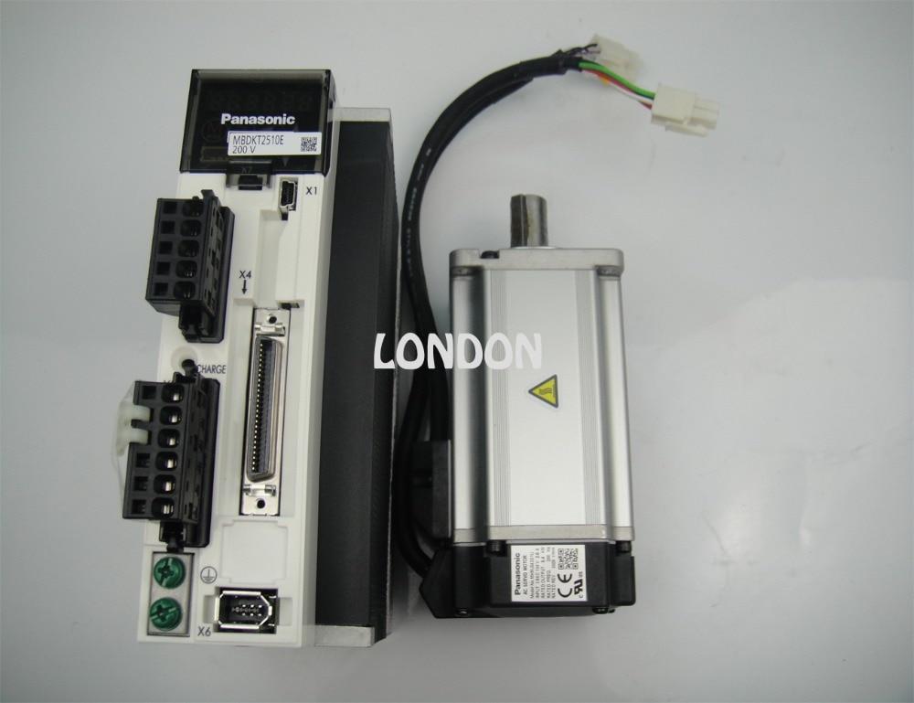 1 Set 400W PANASONIC Servo Motor MHMJ042G1U+ 400W PANASONIC Servo Driver MBDKT2510E