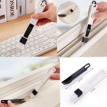 Multifunctional Brush Slot Window Computer Cleaning Tool Kitchen Cleaning Brush window keyboard cleaner vacuum cleaner brush(China)