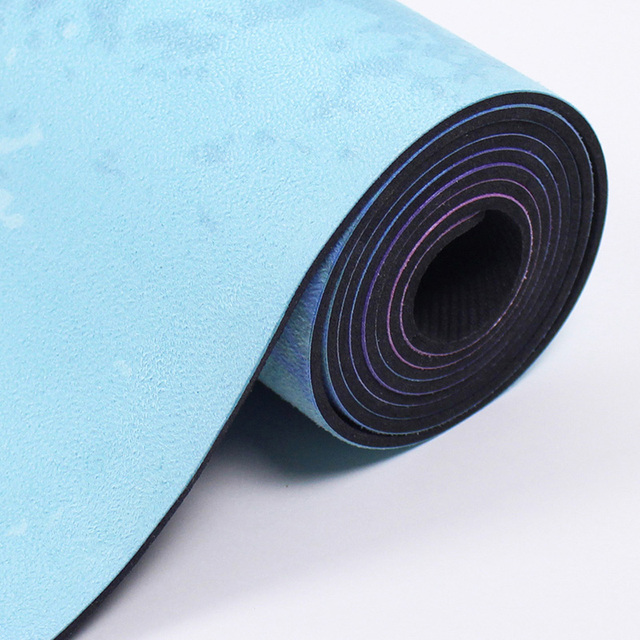 Natural Rubber – Wise Elephant Blue Yoga Mat – 3.5mm