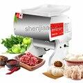 Kommerziellen Edelstahl Schneiden Maschine Elektrische Fleisch Cutter Multi funktion Automatische Cut Schweinefleisch Fleischwolf Haushalt 220 v|Küchenmaschinen|   -