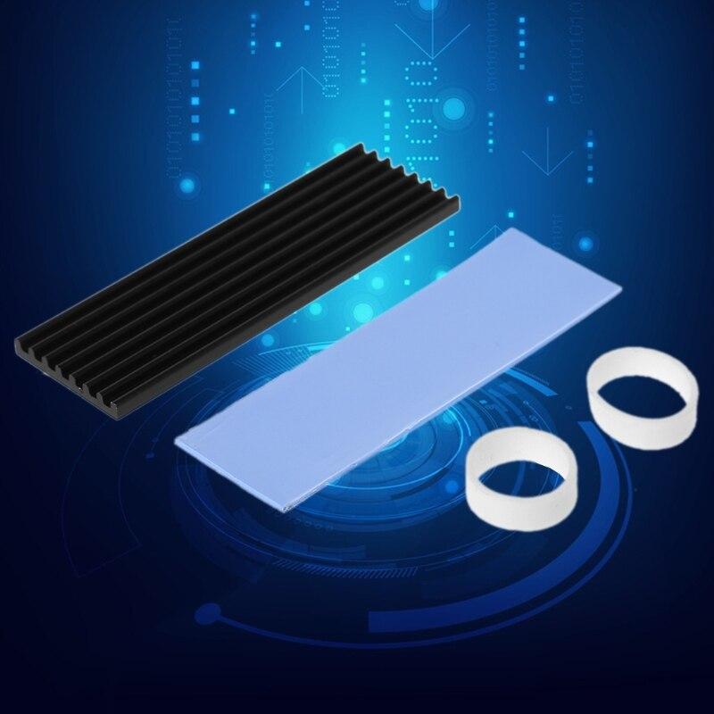Tampon thermique de refroidissement en aluminium pur pour N80 NVME M.2 NGFF 2280 PCI-E SSDTampon thermique de refroidissement en aluminium pur pour N80 NVME M.2 NGFF 2280 PCI-E SSD