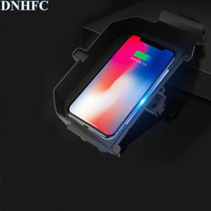 DNHFC Voiture Mobile téléphone sans fil de charge Pad Module De Voiture Accessoires Pour BMW G30 530i 530d 520i 540i 2018 2019