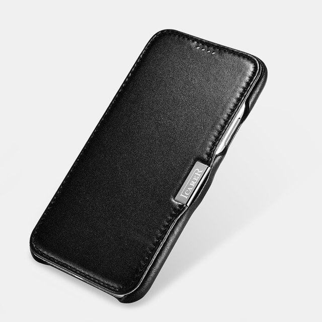 iphone xs max case flip magnetic closure