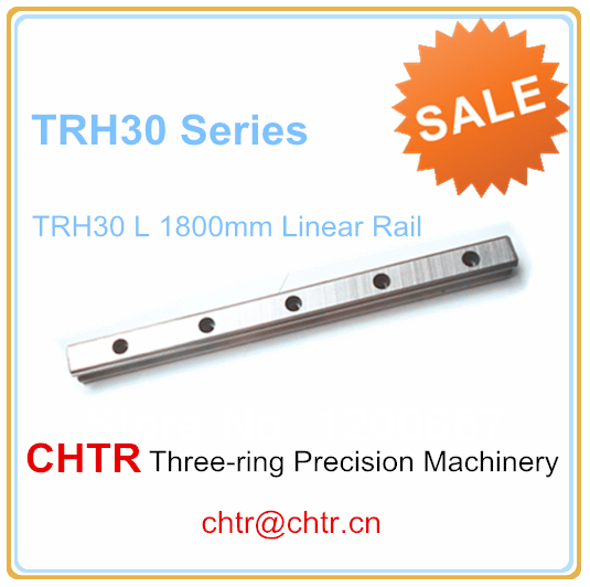 1pc TRH30 Length 1800mm Linear Slide Guideway Rail 28mm 1pc trh30 length 2500mm linear slide guideway rail 28mm