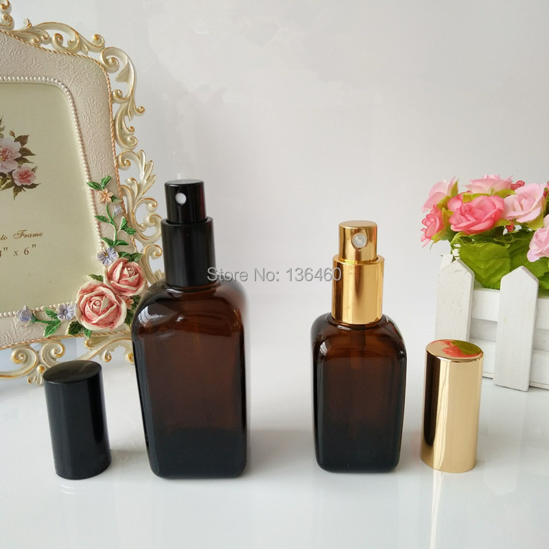 Image 5 - Black/Gold/Silver Perfume Spray Cap 5ml10ml15ml20ml30ml50ml Perfume Bottle Mist Spray Pumps,Treatment pump Metal Sprayer-in Refillable Bottles from Beauty & Health
