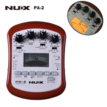 NUX PA-2 Electric Guitar Effect Pedal 18 types of preset 24bit Multifunctional Portable Guitarra Effect Guitar Accessories