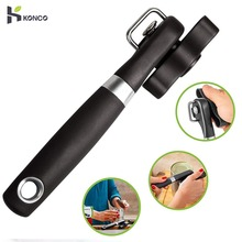 KONCO Manual Can Opener Stainless Steel Bottle Openers Professional Ergonomic Jars & Tin Opener for Cans Kitchen Tools