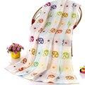 70*140 mantas de bebé recién nacido algodón envoltura envolver bebé sabanitas wrap swaddling swaddle me lecho del verano infantil