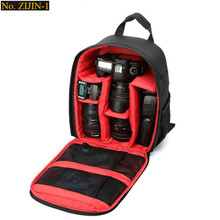 New Pattern waterproof DSLR Camera Bag Backpack Video Photo Bag for Camera d3200 d3100 d5200 d7100 Small Compact Camera Backpack