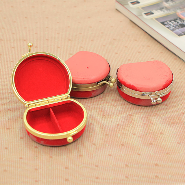 Red Plastic Box Clutch Purse Frame Nice Three Colors Metal Purse ...
