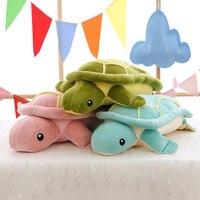 60cm Cute Tortoise Plush Toys Super Soft Turtle Doll Plush Pillow Sleep Soothing Cushion Toys Kids Toy For Children