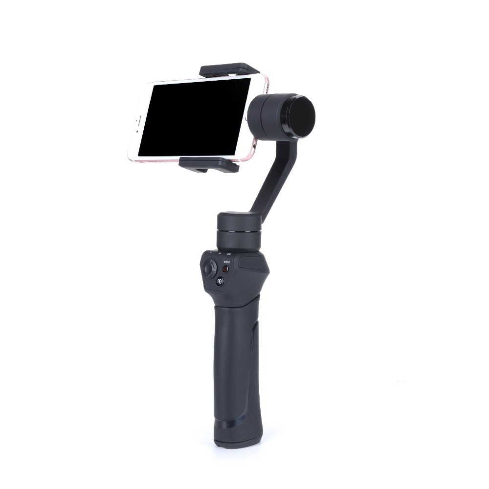 new styles 0e491 5cf2f US $129.99 |Smooth Q 3 Axis Handheld Smartphone Gimbal Stabilizer action  camera selfie phone steadicam for iPhone 7 Plus Samsung S7 RC Parts-in  Parts ...