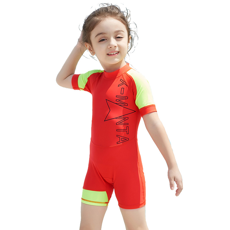 new children girls professional swim suit one piece kids sport swimwear costume rush guard bathing girl beachwear quick drying Unisex Baby Girl Swimwear Boys Swimsuit Swimming Bathing Suit One Piece Swim Wear Children UPF30+ Sun-Protection Sport Beachwear