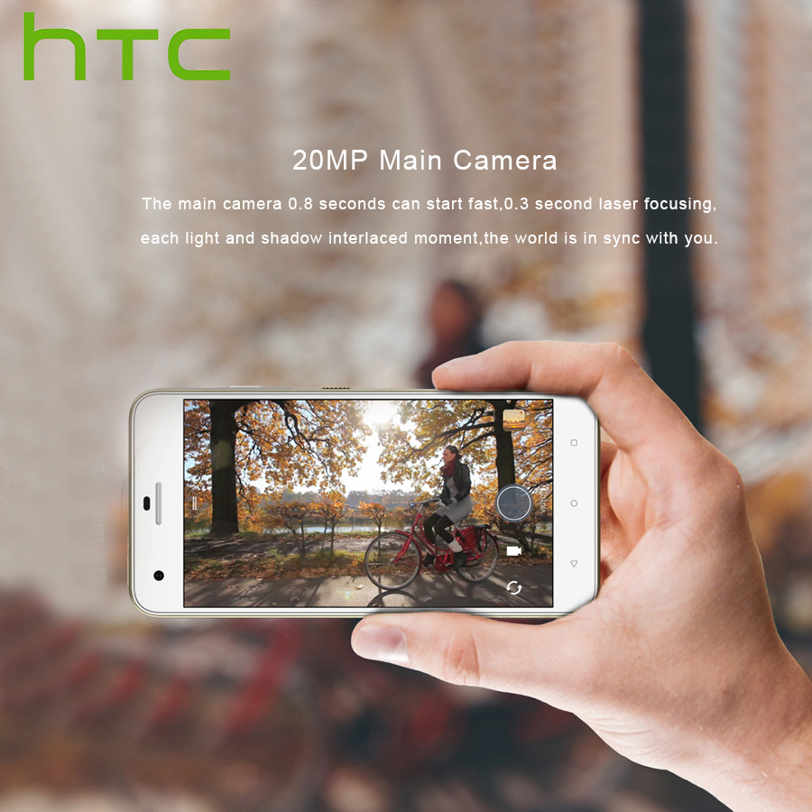 """Image 4 - Spain Delivery Original NEW HTC Desire 10 Pro 4GB 64GB 4G LTE Mobile Phone 5.5""""Octa Core Dual SIM 20MP 3000mAh Android Callphone-in Cellphones from Cellphones & Telecommunications"""