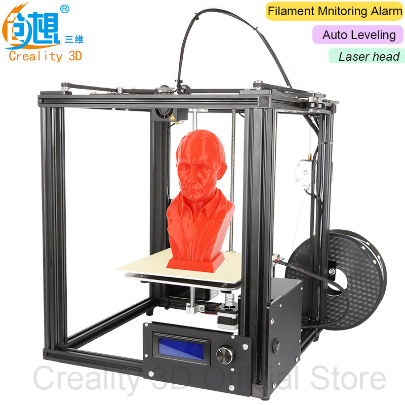 CREALITY 3D Laser Ender-4 Auto Leveling Core-XY 3D Printer V-Slot Frame 3D Printer Kit Filament Monitoring Alarm Potection ship from european warehouse flsun3d 3d printer auto leveling i3 3d printer kit heated bed two rolls filament sd card gift