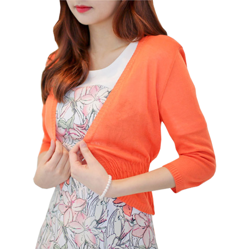 Shawl Spring Summer Thin Sweater Women Long-sleeved Knit Cardigan Jacket Female Sweaters Air-conditioned Shirt Vestidos Lxj030 Delicacies Loved By All Sweaters Women's Clothing